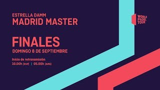 Finales -  Estrella Damm Madrid Master 2019 - World Padel Tour