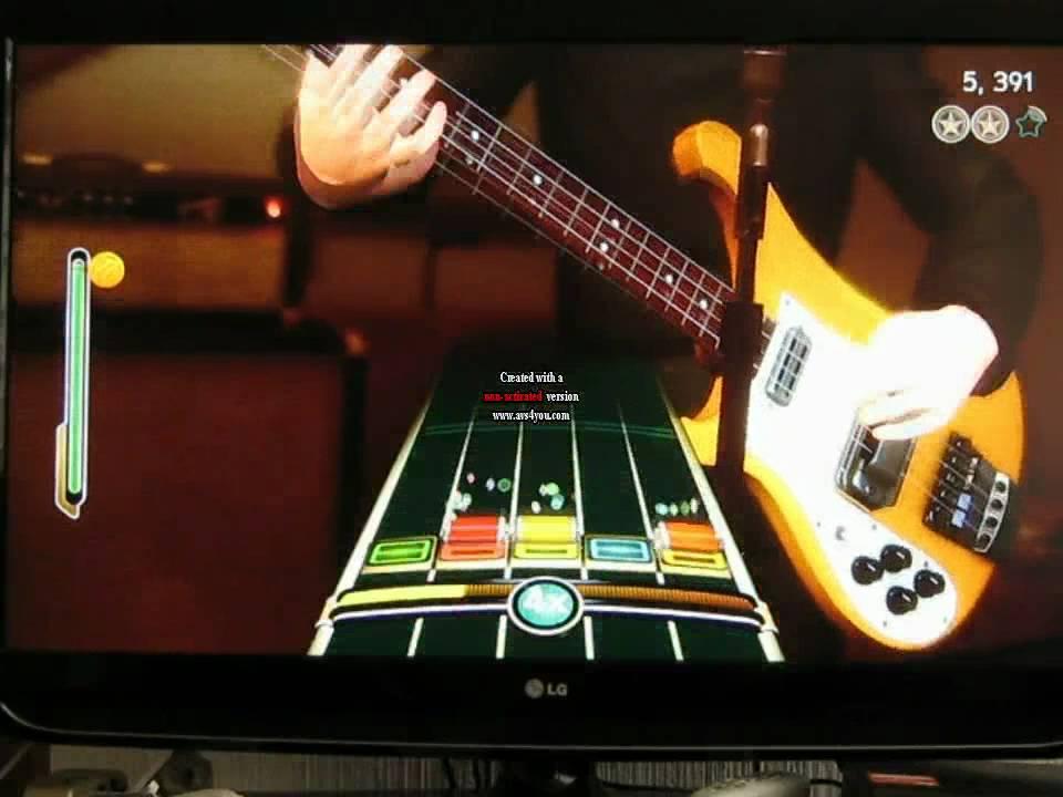 the end the beatles rock band expert guitar 100 youtube. Black Bedroom Furniture Sets. Home Design Ideas