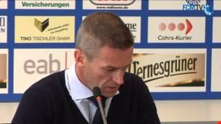 Pressekonferenz Jens Härtel wird neuer FCM Trainer