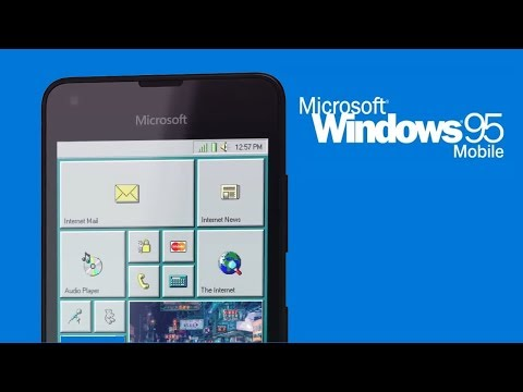 Презентация Windows 95 Mobile. Смотрим, обсуждаем.