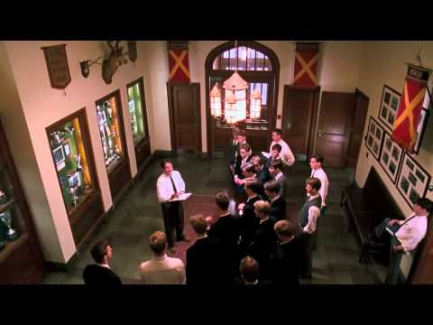 Dead Poets Society - Mr  Keating's First Class (carpe diem lecture)