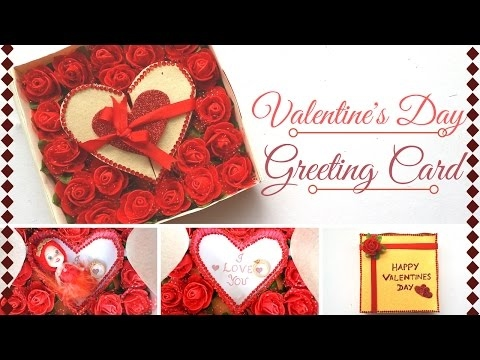DIY  Valentines Day Greeting Card Design  Making Ideas For Your