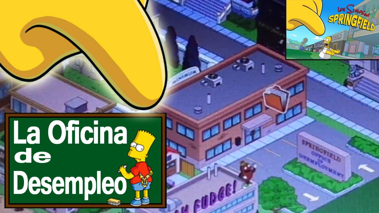 Los simpson springfield la oficina de desempleo y el gestor de trabajos por tony youtube - Oficina de desempleo ...