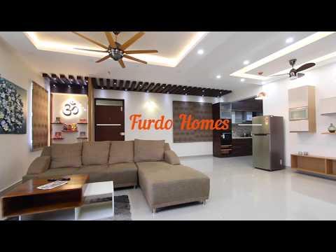 Interior Design in Bangalore: 3 BHK Apartment Interior Design - Ishaa Casablanca | FURDO DESIGN