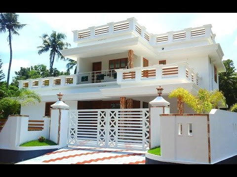 10 cents plot and 2,300 sq ft luxury house, in VIP locality, for sale in Angamaly near Airport