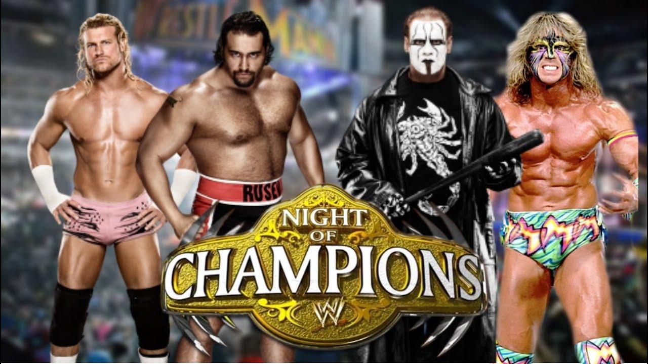 WWE 2K15 Dolph Ziggler vs Rusev and Sting vs The Ultimate ...