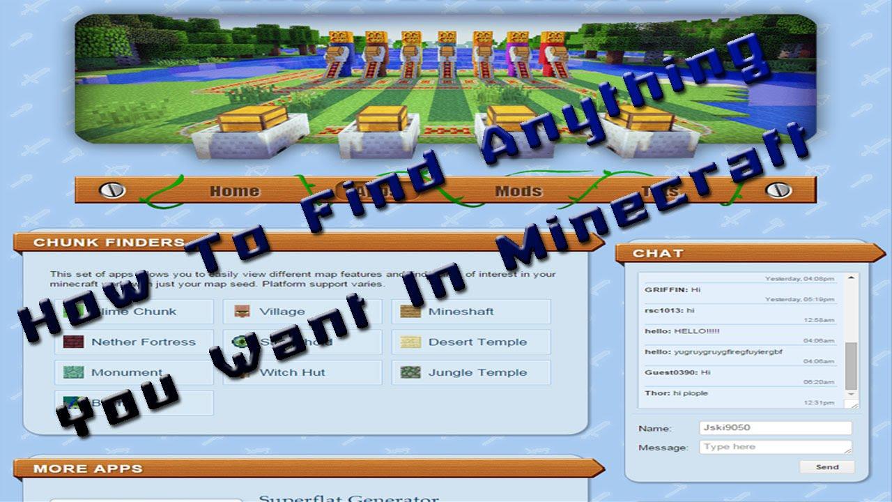 Minecraft Console: Village/ Temple Finder Tutorial
