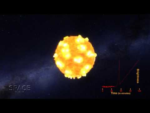 Supernova's Super-Shockwave Seen For The First Time | Video