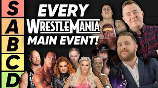 TIER LIST: WWE WrestleMania Main Events