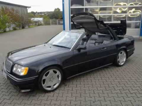 mercedes 124 cabrio 300ce24 amg 3 4 e34 in usstyle youtube. Black Bedroom Furniture Sets. Home Design Ideas
