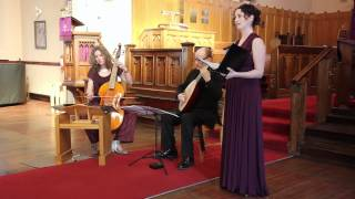 Nicholas Lanier - No more shall meads be deck'd with flow'rs - for soprano, lute and viola da gamba