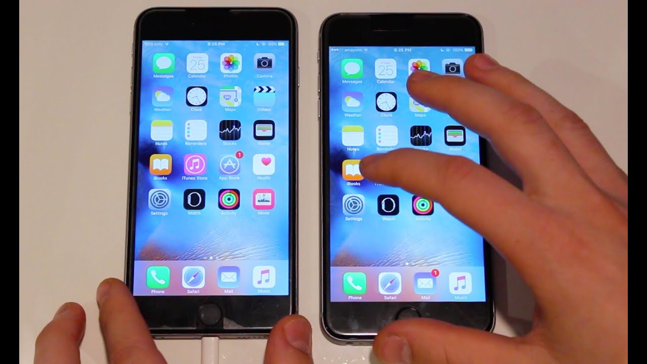 Iphone 6s Plus Vs Iphone 6 Plus Speed Test