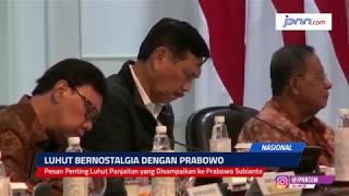 Pesan Penting Luhut Panjaitan yang Disampaikan ke Prabowo Subianto