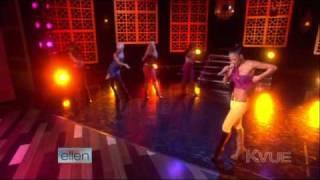 Pussycat dolls - Jai ho (live in ellen show)