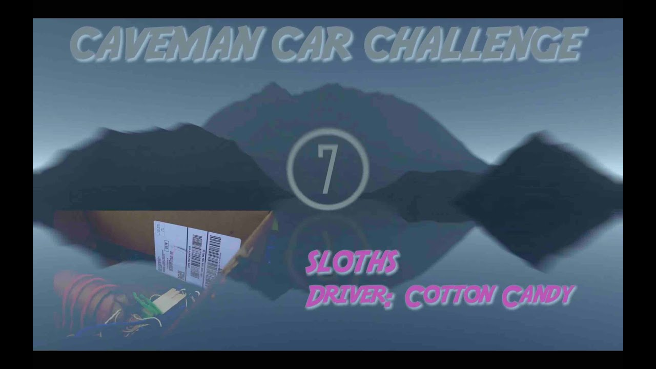 Week 5: Wacky Wednesday- Caveman Cars