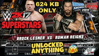 (SVR 2011)HOW TO UNLOCK ANYTHING AND ADD WWE 2K17 SUPERSTARS AND MORE. SAVE DATA ANDROID,ISO