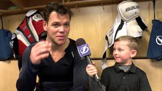 Junior Reporter - One on one with Jake Dotchin - 20170329