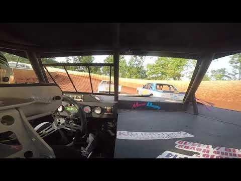 East Lincoln Speedway 7-13-19 Pro 4 Front Cam Heat Race Alexus Motes