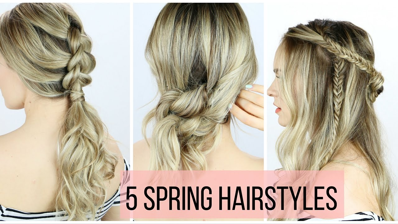 7 Best Hairstyles For Spring : Hairstyles for spring