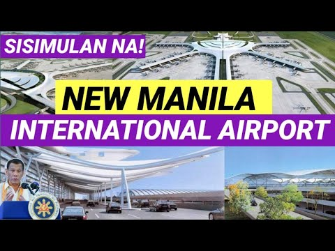 NEW MANILA INTERNATIONAL AIRPORT LATEST UPDATE
