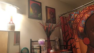 Bathroom Refresh Afrocentric