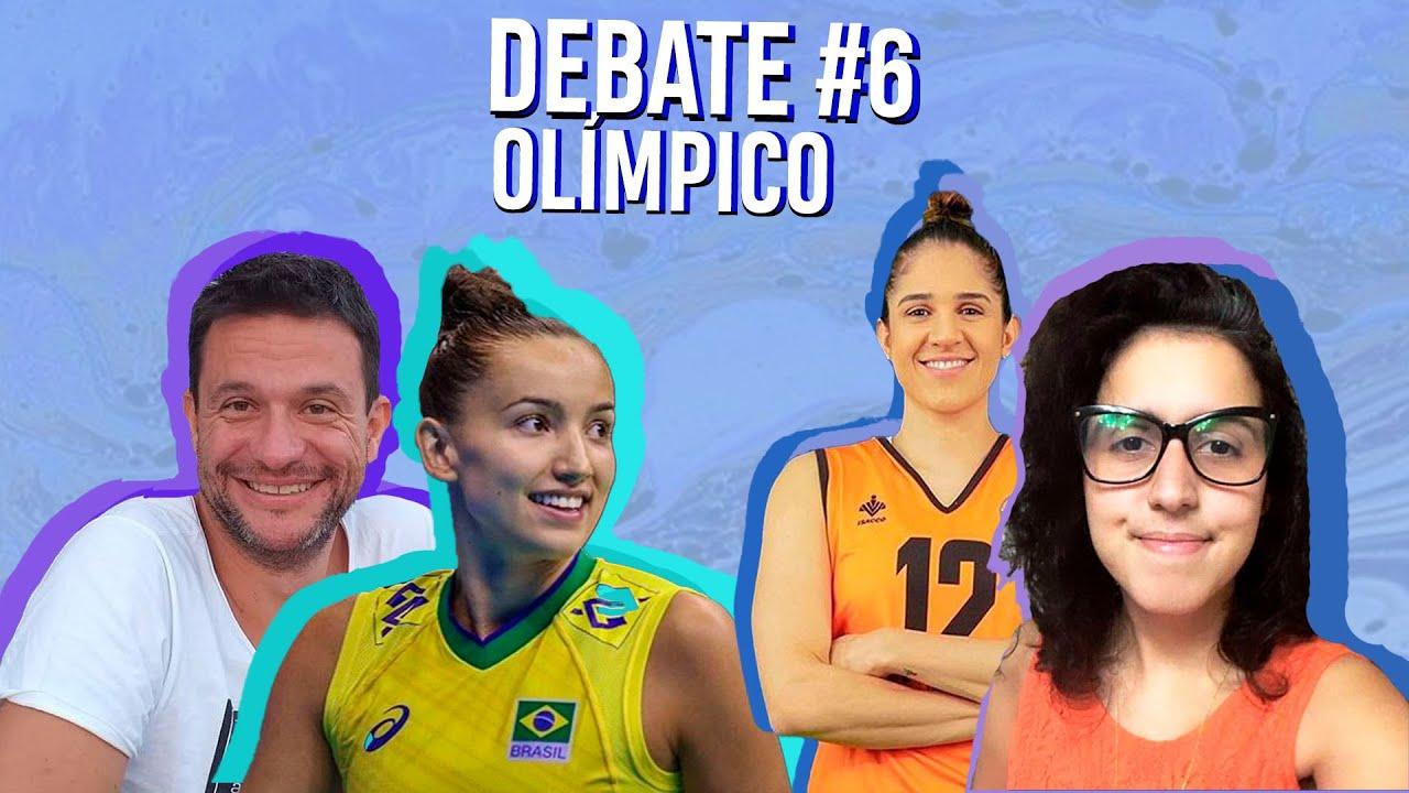 Previsões para o vôlei nas olimpíadas ft Natália Zilio e Gabi Guimarães #DEBATEOLÍMPICO