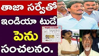 Another #Survey By India Today Management | Viral In Ap | #Chandrababu | Jagan,News220