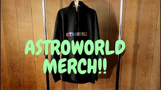 ASTROWORLD Merch (UNBOXING/REVIEW)