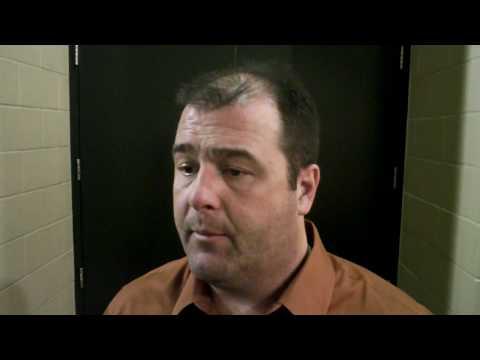 Amarillo Gorillas @ Allen Americans - 1/22/10 - Post-game Interview