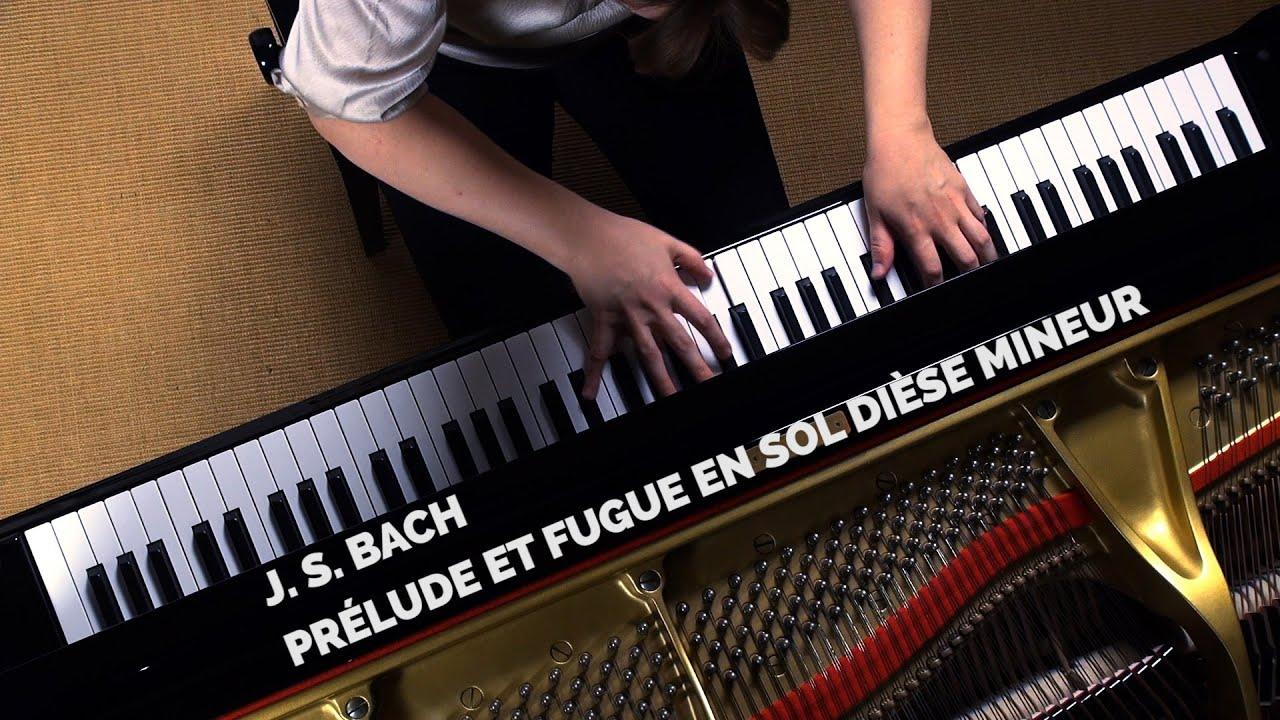 J. S. Bach - Prelude & fugue en sol dièse mineur (G sharp minor) tome 8  (book 8)