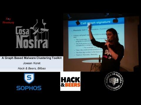 Cosa Nostra Malware Clustering Toolkit por Joxean Koret