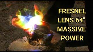 Solar Fresnel Lens 64