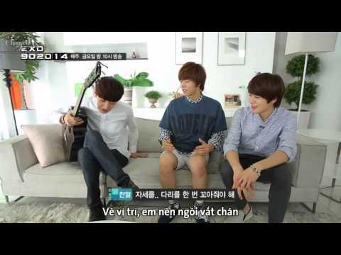 [Vietsub] 140818 EXO 90:2014 - Chanyeol @ 'HOPE' MV Remake BTS (Part 2)