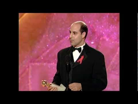 Stanley Tucci Wins Best Actor Mini Series - Golden Globes 1999