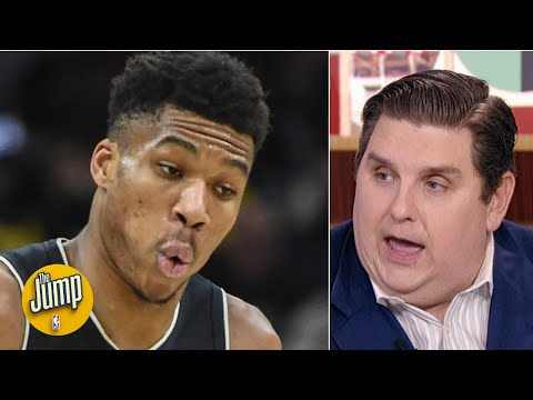 If Giannis doesn't re-sign with the Bucks, the supermax has failed - Brian Windhorst  The Jump