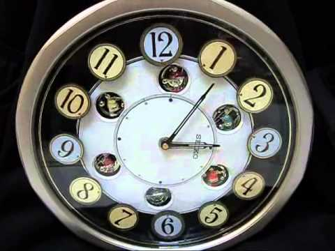 SEIKO ANIMATED MUSICAL WALL CLOCK