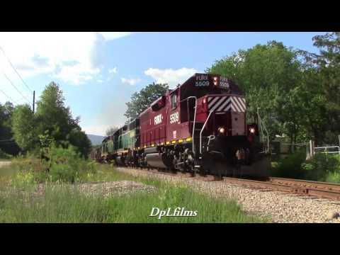 Chasing the New Hampshire Northcoast Railroad
