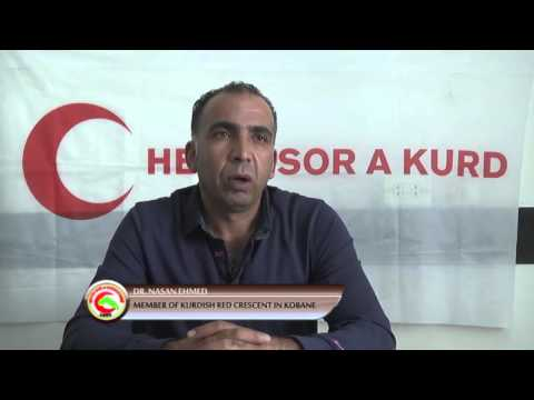 Kurdish Red Moon´s aids in 2015