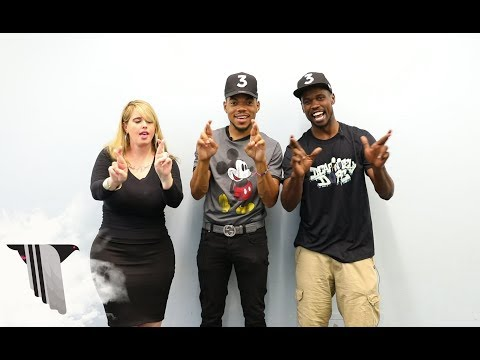 "Chance the Rapper Learns His ""Blessings (Reprise)"" Verse in Sign Language"