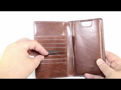 Danny P. Leather Wallet with iPhone 6 Plus Case Review