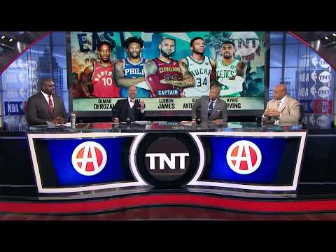 East All-Star Starters Analysis | Inside the NBA | NBA on TNT
