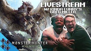 Monster Hunter World with Greg Miller of Kinda Funny!!! — UpUpDownDown Streams