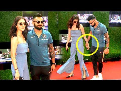Virat Kohli With Girlfriend Anushka Sharma At Sachin Tendulkar's Biopic Movie Premiere