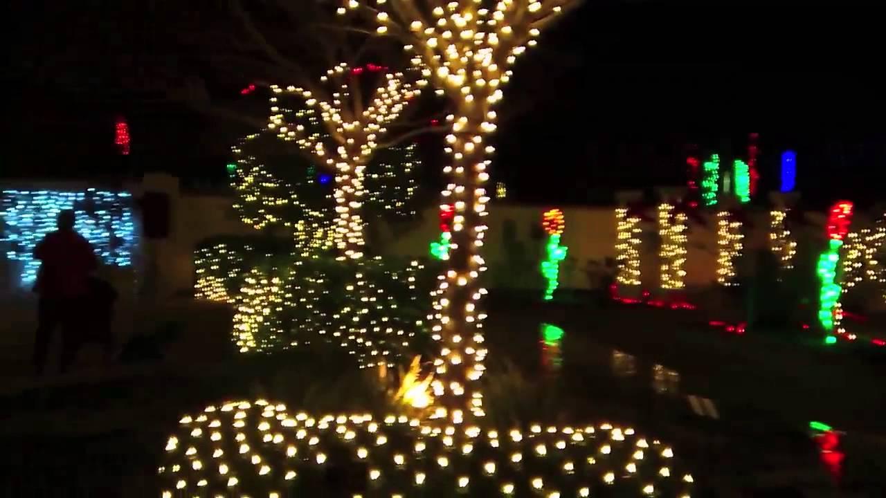 Florida botanical gardens 2013 christmas lights youtube Largo botanical gardens christmas lights