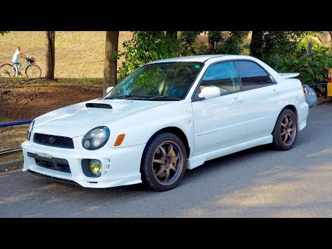 2001 Subaru Impreza WRX STi Canada Import Japan Auction Purchase