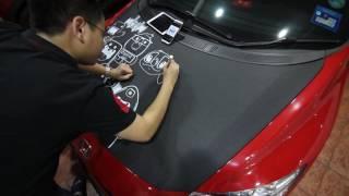 Car Doodling - Honda CRZ