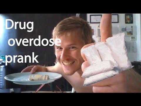 REVENGE !!! Drug overdose prank.