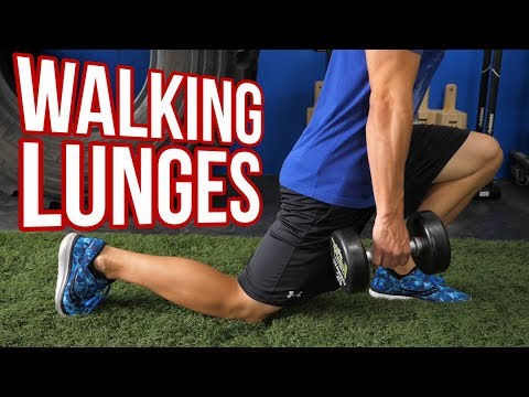 Walking Lunges with Dumbbells Which STRIDE Length is Best?