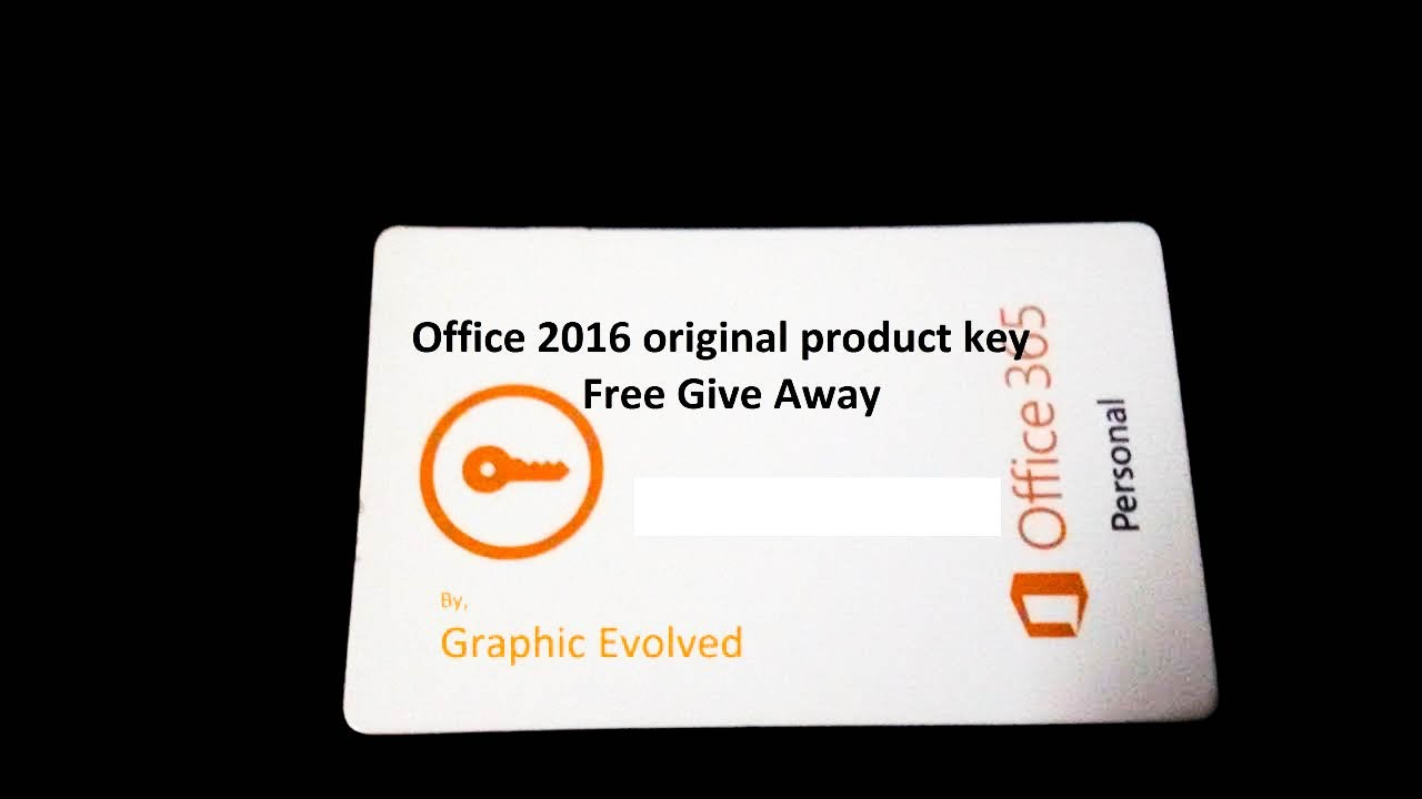 office 2016 free product key 2017