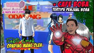 Traktir Emak!! ODADING MANG OLEH & CAFE BOBA SAKURA SCHOOL SIMULATOR INDONESIA